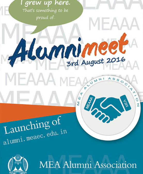 Launching of Alumni.meaec.edu.in