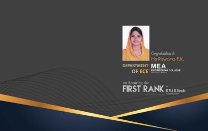 First Rank – KTU S4 Exam | Malabar Region