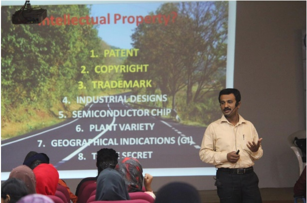 Seminar on 'Current perspectives of Intellectual Property Rights in Economic growth – An indication'