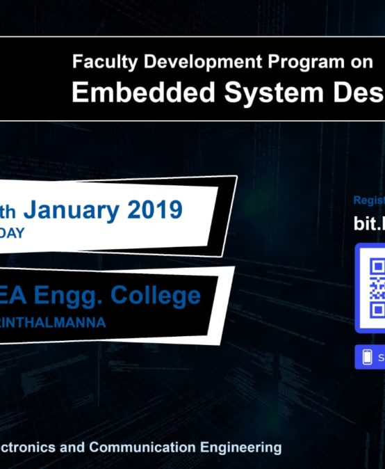 "FDP on ""Embedded System Design"""