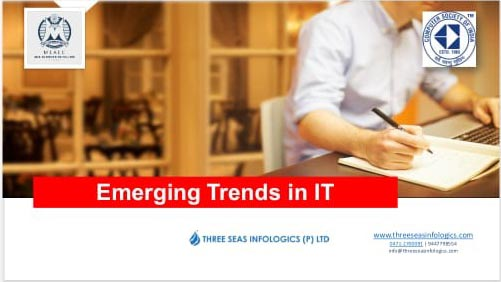 Workshop on Emerging Trends in IT under CSI